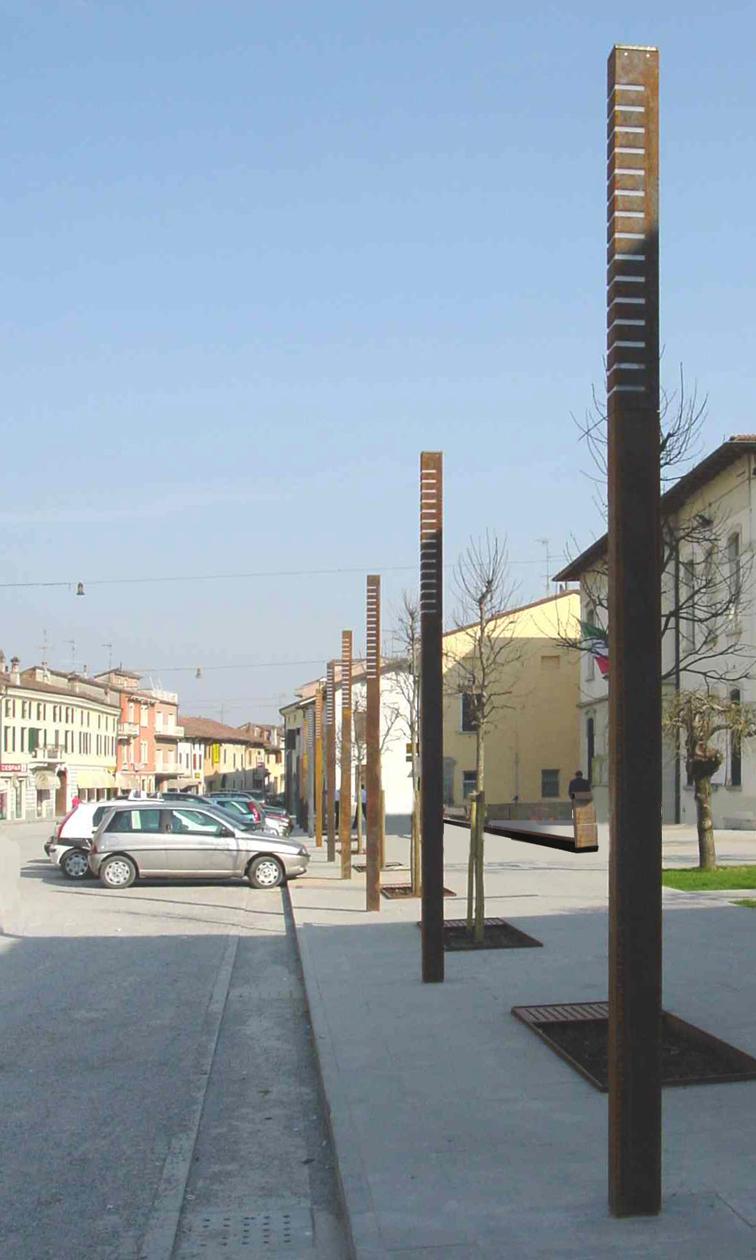 Riqualificazione e arredo urbano via roma dello bs for Arredo urbano roma
